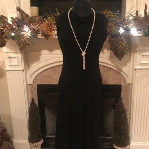 NWT black cocktail dress - VERY elegant!